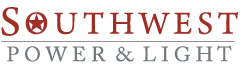 SouthWest Power&Light - Texas Electricity Company - Logo